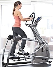 vision fitness s7100 elliptical review  fitnessequipment